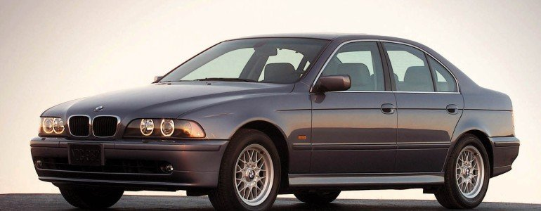 BMW 5 серии e39 с 1996 по 2001
